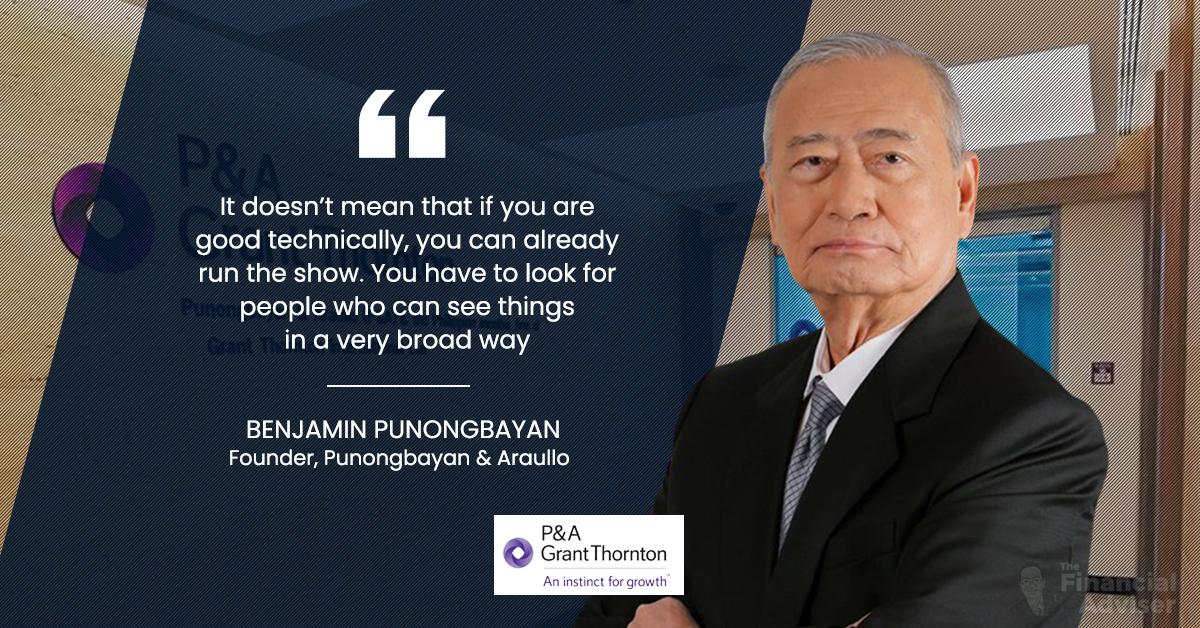 benjamin punongbayan quote